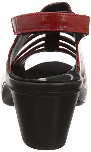 Romika Womens Leather Mokassetta Sandals 287 Red ggwrv