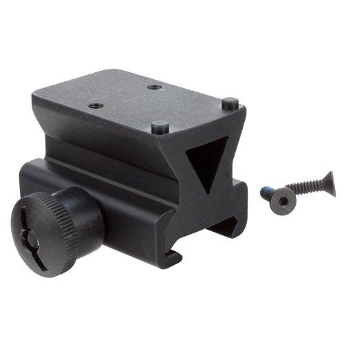 Trijicon AC32062 Colt Knob Picatinny Rail Mount Adapter RMR 1/3 Lower Co-Witness, black (Lower Rail)