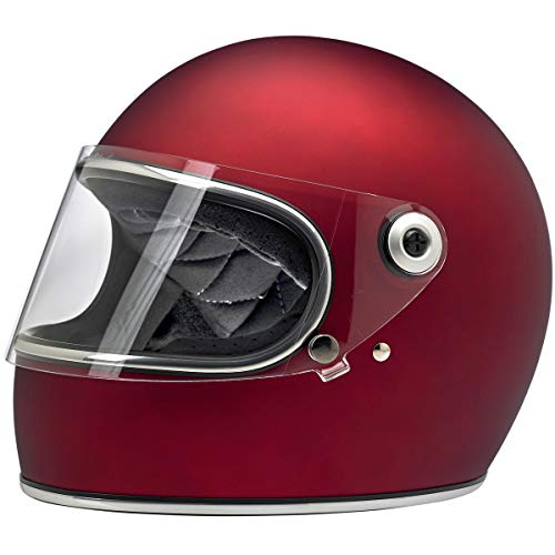 Biltwell Gringo S ECE Rated Helmet Flat Red X-Large (More Size and Color Options)