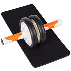 Ultrasport AB Roller - Bauchtrainer, orange