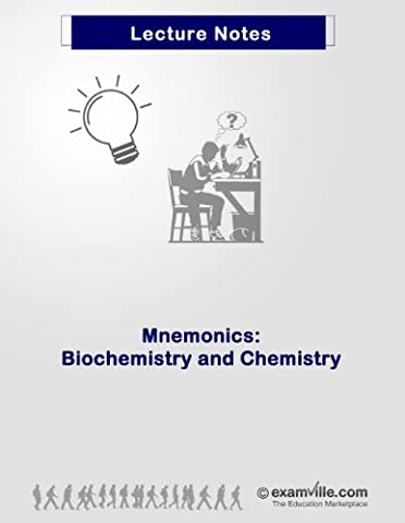 Easy Mnemonics - Biochemistry and Chemistry Review (Quick Review Notes) (Ap Biochemistry)