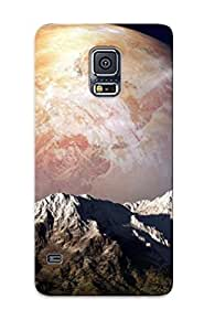 Chistmas' Gift - Cute Appearance Cover/tpu BCVESaB5758MnAdO Planet Beyond The Mountains Case For Galaxy S5