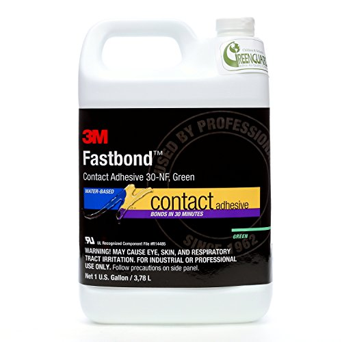 - 3M 30NF Fastbond Contact Adhesive, Neutral 1 Gallon Bottle (Pack of 1)