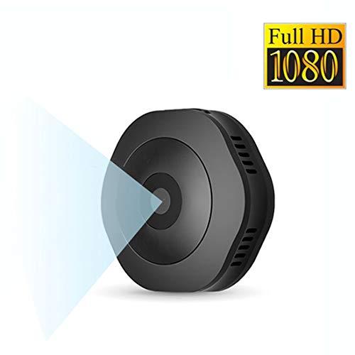 Mini Spy Camera,1080P Hidden Camera,Portable Hidden Spy Camera Pocket Nanny Camera HD Hidden Surveillance Camera for/Home/Office/Hotel/Keychain/Elevator/Vehicle/Kids/Bathroom(No Need WiFi)