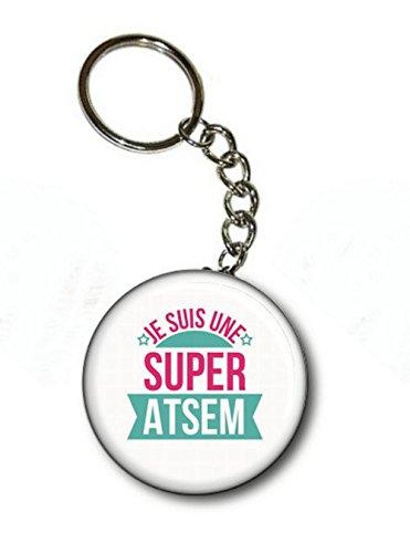 Porte Clé Atsem Angora Super Je Suis Une 0Pnd7qw