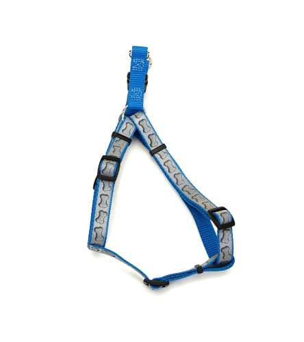Coastal Pet 46455 TQB24 Lazer Brite Comfort Wrap Reflective Adjustable Harness, Adjusts from 18-26-Inch and 5/8-Inch Wide, My Pet Supplies