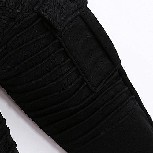 Spbamboo Mens Pants Slacks Casual Elastic Joggers Sport Baggy Pockets Trousers by Spbamboo (Image #5)