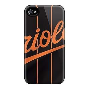 High Grade winvin Flexible Tpu Case For Iphone 6 plus - Baltimore Orioles