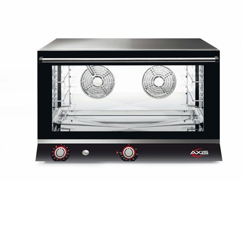 Axis AX-824H Electric Conv Oven - Full Pan - Four shelves - Manual - Two Fans