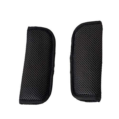 Bambini Auto Cintura Sicurezza Spalle Tampone Copri Morbido Comfort Protezioni Imbottitura Della Spalla 6cm Nero 18