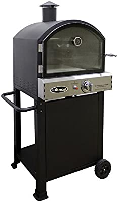 Amazon.com : Hiland PSL SPOC AZ Patio Heaters Pizza Oven, Black : Garden U0026  Outdoor