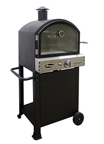 Hiland PSL-SPOC AZ Patio Heaters Pizza Oven, Black (Are Patio Heaters Safe)