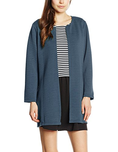Only Onlleco 7/8 Long Cardigan Jrs Noos, Chaqueta Para Mujer Azul (Orient Blue)