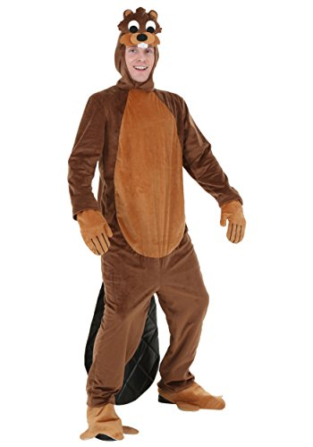 Adult Busy Beaver Costume X-Large