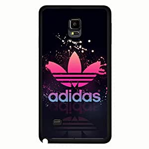 Famous Style Adidas Phone Case, Hard Plastic Skin Adidas Originals Phone Cover for Samsung Galaxy Note 4