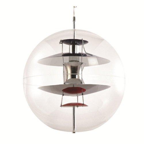 Fine Mod Imports Home Indoor Livingroom World Hanging Lamp Clear