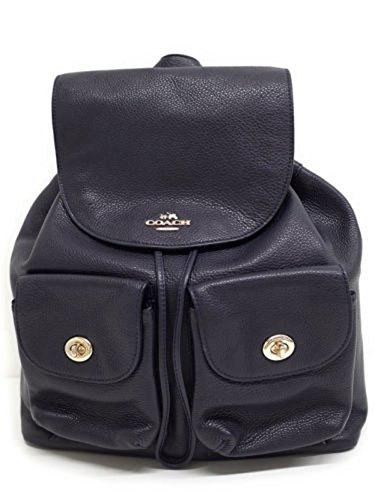 Coach Pebbled Leather Backpack F37410