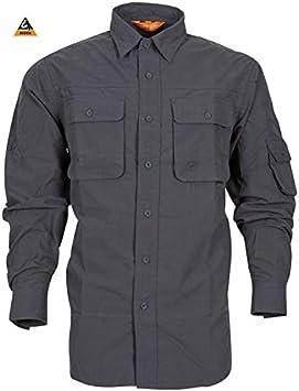 TUCUMAN AVENTURA -Camisa Aventura Hombre berkozip Gris (XL): Amazon.es: Deportes y aire libre