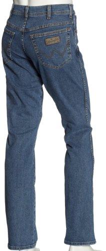 Blu Stretch Texas Da 7 Jeans Stone Uomo Wrangler pacco Stonewash dark 5q8awdYx
