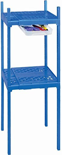Its Academic Adjustable Double Locker Shelf- Blue by It's Academic