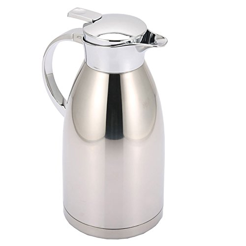 Huskey Coffee Carafe Insulated 68 Ounces 2L Vacuum Thermos Jug Stainless Steel Double-Wall Vacuum Insulated 24 Hours(12Pcs Package) (12) by HUSKEY (Image #3)