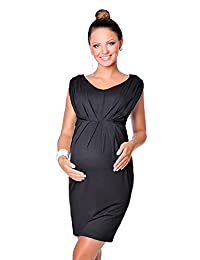 Purpless Maternity New Stunning Sleeveless V Neck Maternity Dress 8437