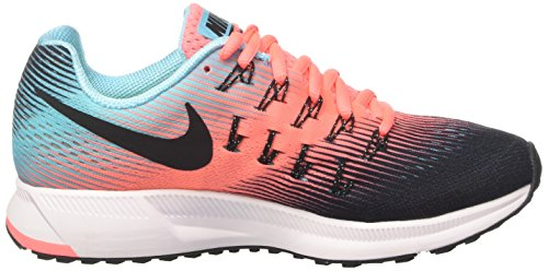 Black Pegasus Air Zoom Wmns 33 Multicolor para Zapatillas Polarized Glow Gimnasia 005 de Black Lava Blue Nike Mujer w174q