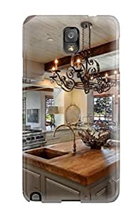 For JBwwMCR12264NxTWJ Open Eclectic Kitchen With Gorgeous Ocean View Protective Case Cover Skin/galaxy Note 3 Case Cover