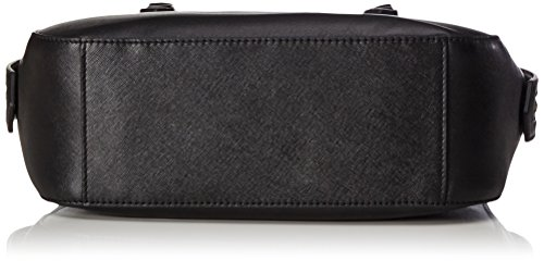 Ecco Ecco Iola Handbag, Sacs portés dos femme, Schwarz (Black), 10x22x31 cm (L x H P)