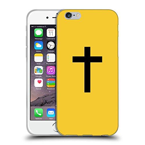 "GoGoMobile Coque de Protection TPU Silicone Case pour // Q08500611 Religion 14 Banane Jaune // Apple iPhone 6 4.7"""