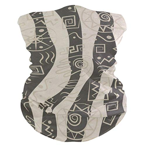 AfricArt Pattern Outdoor Magic Headband Multifunctional Elastic Seamless BandanScarf UV Resistence Sport Headwear