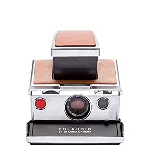 Polaroid Originals 4695 Polaroid SX-70 Camera, Silver, Brown