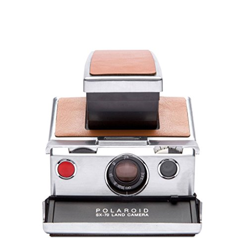 Polaroid Originals 4695 SX-70 Camera, Silver, Brown