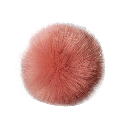 for Scarves Red Faux DIY Charms Hat Fox Watermelon Diadia Hat Pompom Fluffy Shoes Bag Fur Accessories Knitting Ball White xYq1Hzw