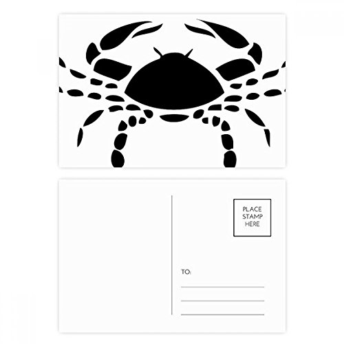 Constellation Cancer Zodiac Sign Postcard Set Birthday Thanks Card Mailing Side 20pcs by DIYthinker