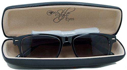In Style Eyes® Rescue Me, Classic Wayfarer Reading Sunglasses. Not BiFocals/Light Purple/3.00 Strength
