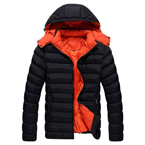 Men's Aiweijia Coat Hooded New Keep Autumn and Slim Jacket The fit Outerwear Winter Warm rrAdwF