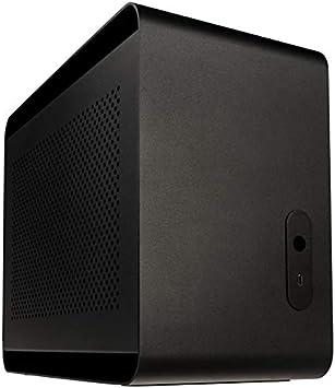 Caja Streacom DA2 Mini ITX-Caja – Negro ST-DA2B: Amazon.es ...