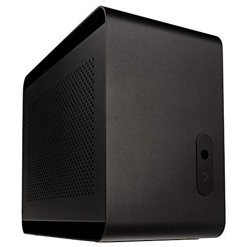 Streacom DA2 Mini ITX 케이스? 블랙 ST-DA2B / Streacom DA2 Mini ITX Case? Black ST-DA2B
