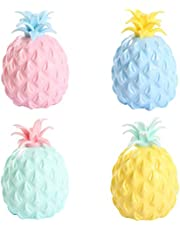 Fidget Toys Ananas Sensory Stress Ball Speelgoed Pop It Fidget Toy Stress Ball Squeeze Stressbal Stress Relief Ballen Anti Stress Toys Voor Kinderen En Volwassen, Zintuiglijn Speelgoed Voor Autisme