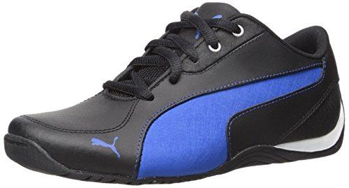 PUMA Drift Cat 5 L NU JR Sneaker (Little Kid/Big Kid), Black Royal, 5 M US Big Kid ()