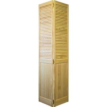 24x80 1 Lp Pine Bifold Multifold Interior Doors Amazon