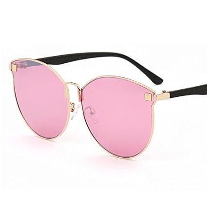 HHHKY&T Polarisierenden Sonnenbrillen Semi-Transparenten Rosafarbenen Meer Glas Sonne Brille Sonnenbrille