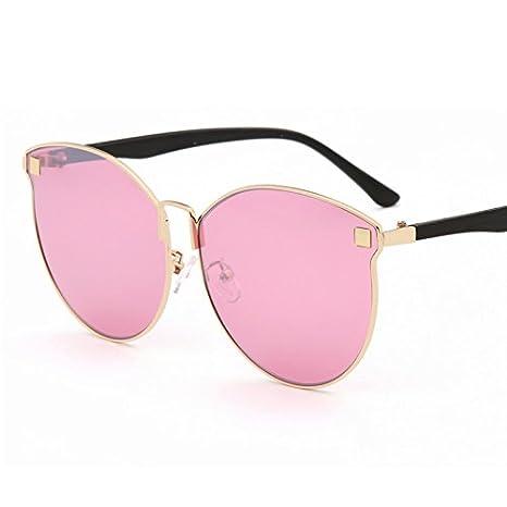 HHHKY&T Gafas De Sol Polarizadas Semi-Transparente Mar Rosa Cristal Gafas De Sol O Gafas