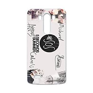 5 Seconds Of Summer Fashion Comstom Plastic case cover For LG G3 by ruishername
