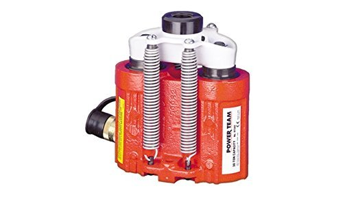 SPX Power Team RT302 Single Acting and Double Acting Center Hole Cylinders, 30 Ton Capacity, 2 1/2'' Stroke
