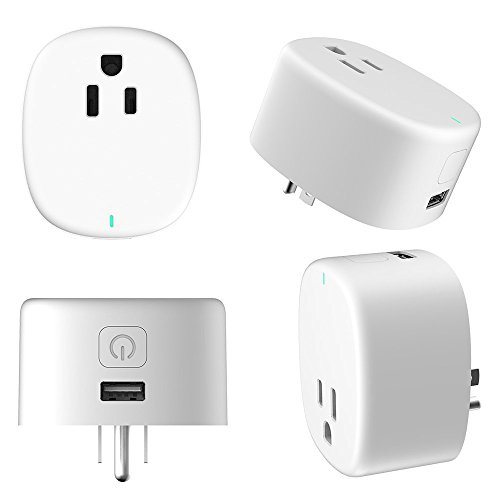 Wi-Fi Mini Timing Smart Plug, With USB Outlet, No Control Center, On the Phone Through the APP Control Device Switch, UL Certification & FCC,RoHs,Work With Amazon Alexa & Google Home by purui (Image #4)