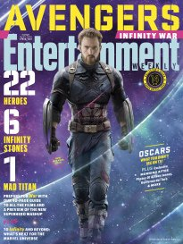 Entertainment Weekly Magazine (March 16 2018) Avengers Infinity War Captain America Cover 14 of 15