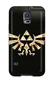 Fashion Tpu Case For Galaxy S5- The Legend Of Zelda Defender Case Cover