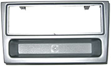 FP-19-00S Vauxhall Vectra 2002-2004 Car Stereo Single DIN Facia Panel Silver